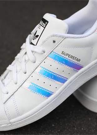 Adidas superstar holográfico