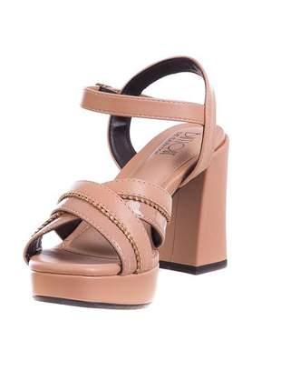 Sandália meia pata nude - 314-1691