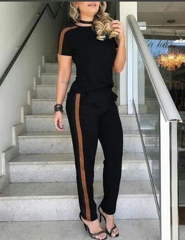 04a01b425 Conjunto calça e blusa moletinho com elastano 2019 - R  149.00 ...