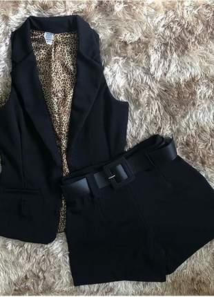 Conjunto shorts+colete