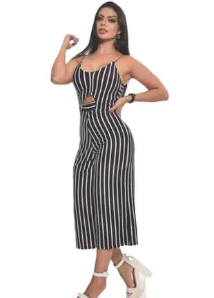 Macacão macaquinho feminino alcinha blogueira moda instagram ref 432b