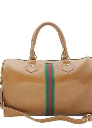 Bolsa hand bag  em couro legítimo b847