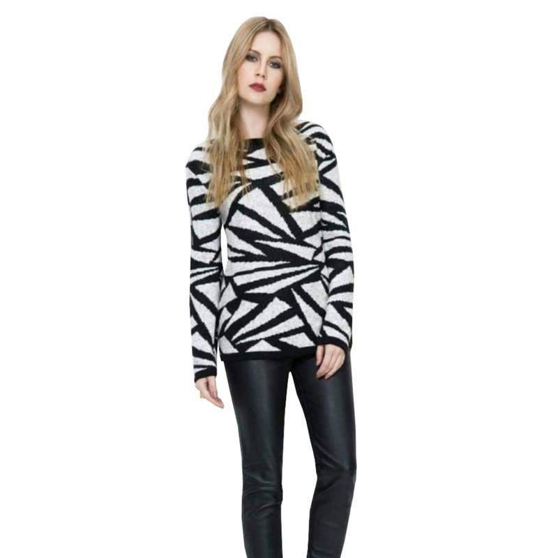 6222c8cd1d Blusa básica feminina tricot suéter de inverno malha de frio - R ...