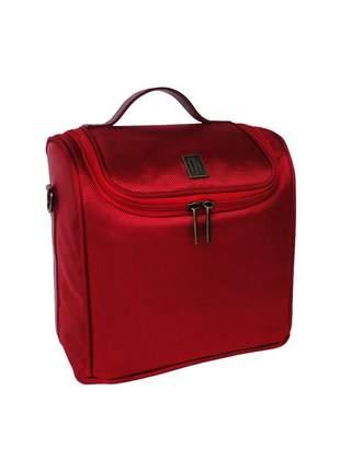 Bolsa térmica fitness premium média nylon poliester - mille - vermelho
