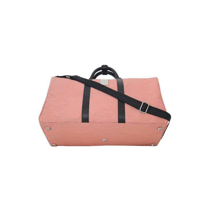 6bdc2b68e Mala de bordo premium couro gravação raízes - mille - rosa - R ...