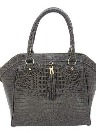 1e443231d2 Bolsa hand bag em couro legítimo b847 - R$ 599.90 (para celular ...