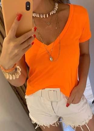 Podrinhas neon laranja
