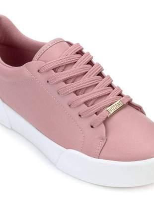 Tênis sapatenis feminino vizzano rosa 1299106