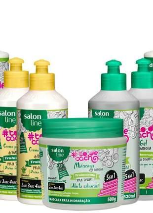 To de cachos babosa salon line liberado + 2 produtos