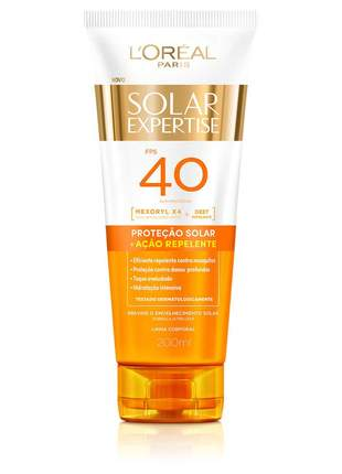 Protetor solar expertise supreme protect repelente fps 40 l'oréal paris - 120ml