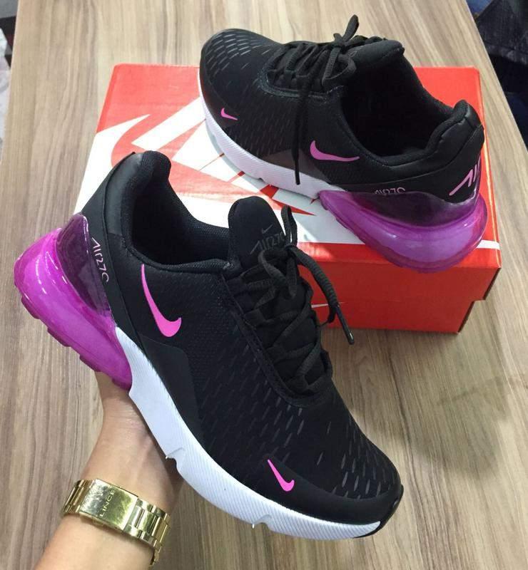 Tenis Nike 270 Tamanhos 34 35 36 37 38 39 Cor Preto R 10900 Shafa O Melhor Da Moda Feminina