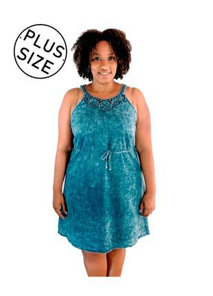 d0cd884c0 Vestido curto jeans da moda - compre online, ótimos preços | Shafa