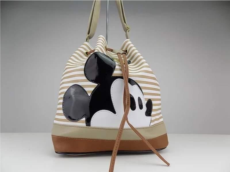 8661d415f Bolsa saco do mickey listrada - R$ 59.90 #16926, compre agora | Shafa
