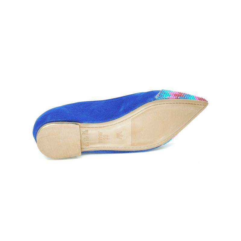 Infinity Shoes / Sapatilha infinity shoes k flat azul #blackfriday