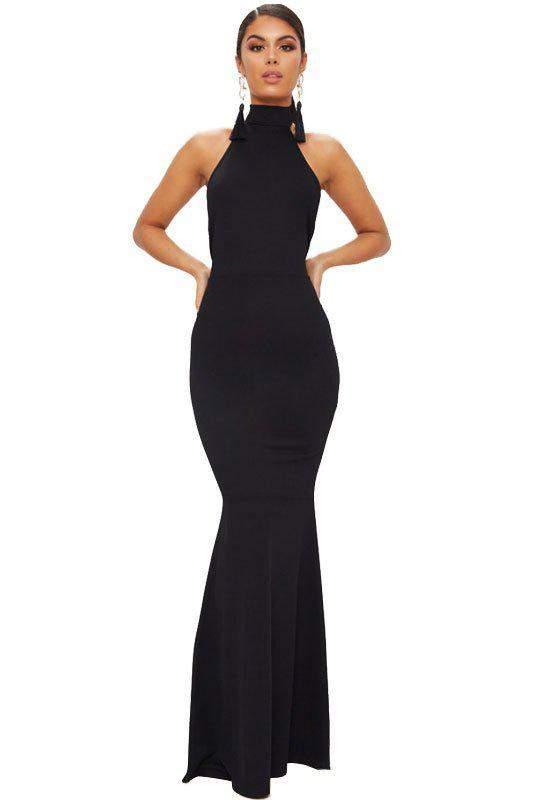 64794b894c Vestido feminino festa social gola alta frete grátis - R  99.99 (com ...