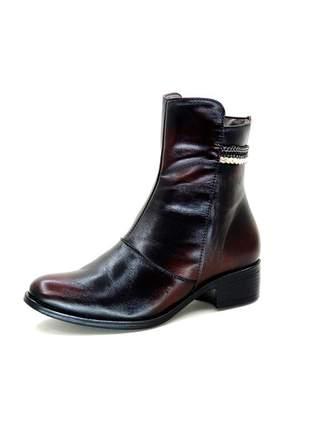 Bota infinity shoes cano curto antic açai