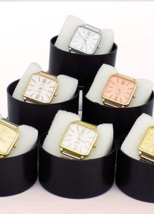 Kit 10 relógios originais feminino atacado p/revenda