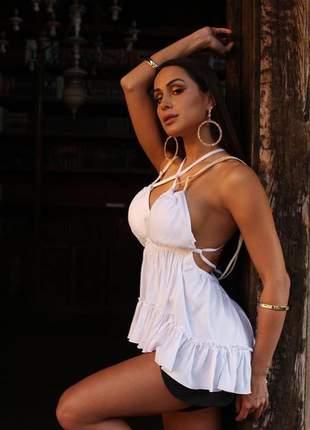 Blusa feminina bata verão