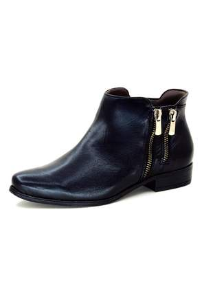 Bota infinity shoes cano curto preto