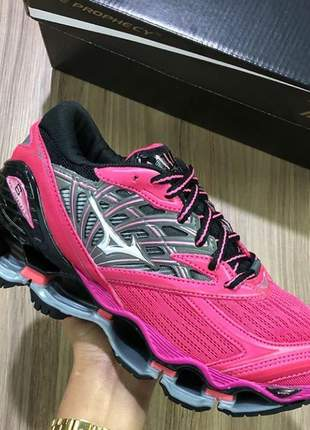 Tênis mizuno wave prophecy 8 pink