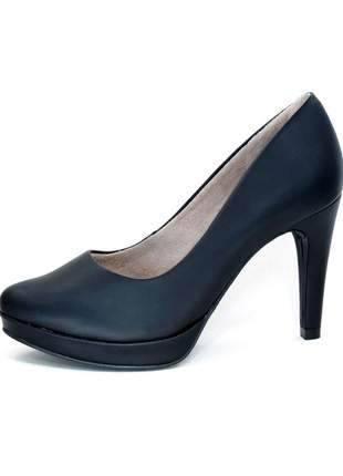 Scarpin malu super comfort meia pata preto #blackfriday