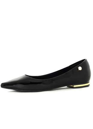 Sapatilha infinity shoes basic flat preto