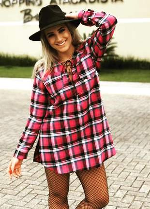b93bb8a487 Camisa xadrez feminina - compre online, ótimos preços | Shafa
