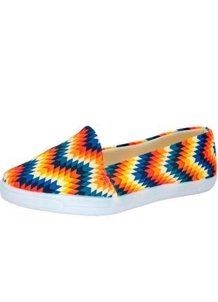 Tenis infinity shoes slip on color