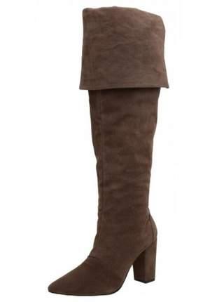 8301b77ce Bota montaria feminina confort preta - R$ 119.00 (em couro, sola ...