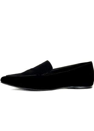 Sapatilha infinity shoes mocassim preto