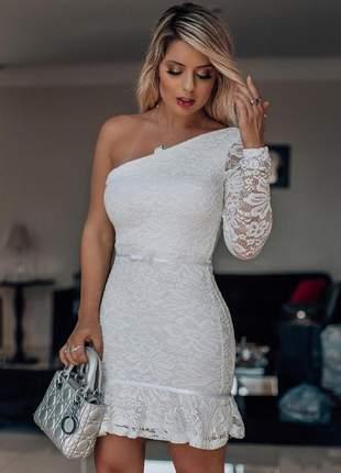 Vestido branco off whithe renda