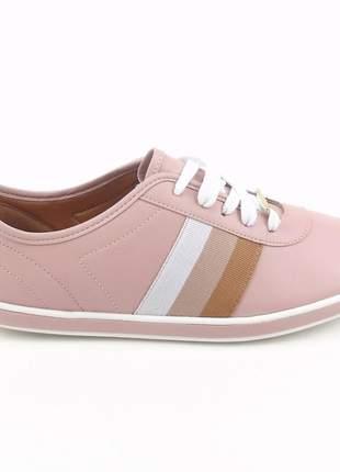 Tênis rosa vizzano casual feminino sapatênis esportivo confortavel pra passear