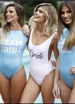 Body noiva e madrinhas personalizado despedida de solteira