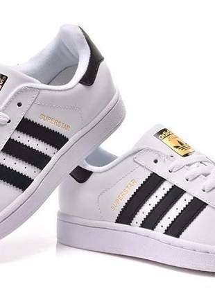 Tênis adidas superstar branco