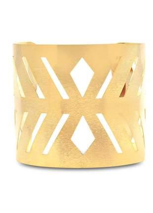 Pulseira bracelete folheado em ouro 18 k