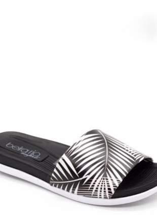 Chinelo slide beira tropical multi/preto 8360.110