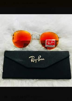 Óculos de sol laranja