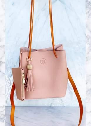 Bolsa milan rosa
