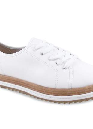 df1d84eb94 Tenis feminino oxford beira rio branco tratorado 4196.203 - R  89.90 ...