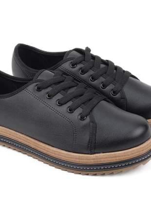 Compartilhar:  sapato oxford feminino beira rio tratorado na cor preto