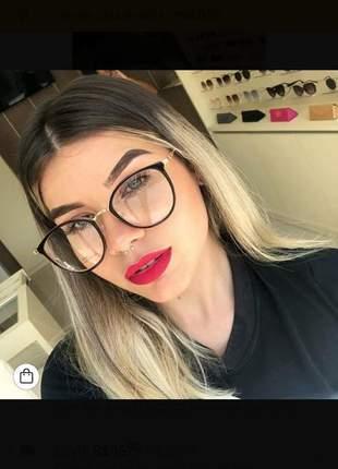 Óculos de grau redondo