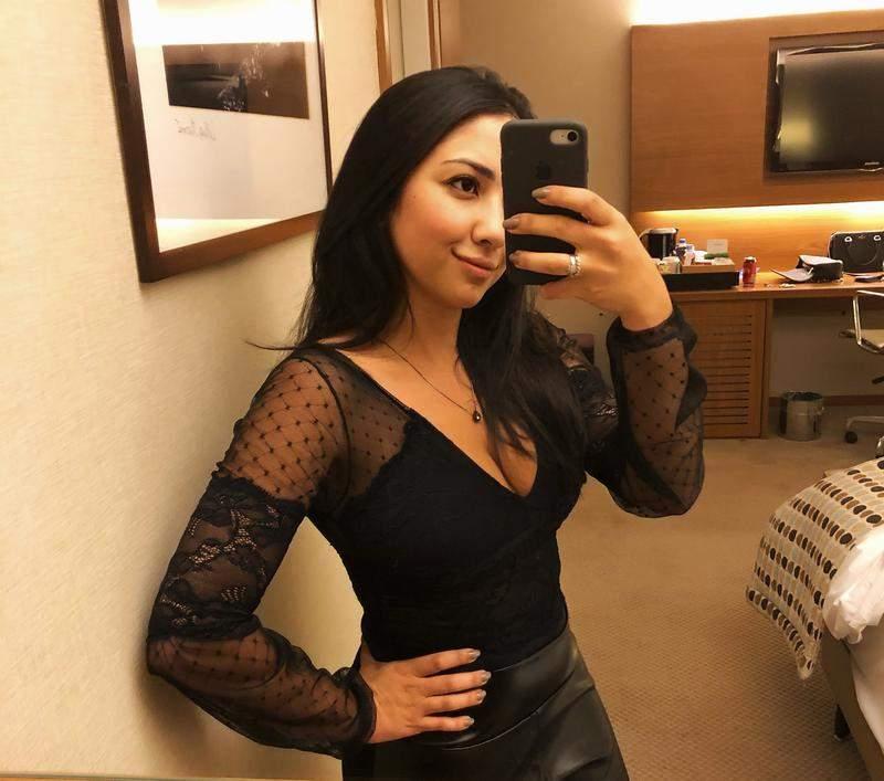 29b816b57 Body lingerie com renda e tule poá manga longa - R  99.90 (decotado ...