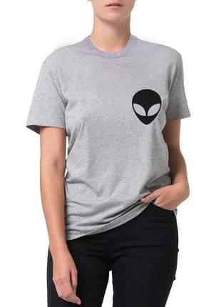 Blusa camiseta alien et galaxia moda blogueira