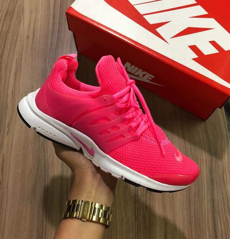 tenis air presto rosa