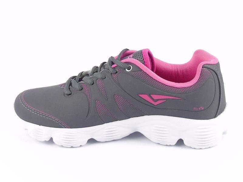2e4df2fb27 Tenis feminino barato academia passeio cinza rosa - R  69.99 ...