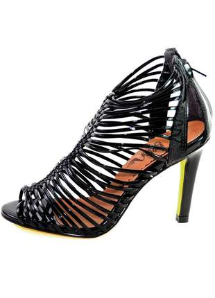 Sandália infinity shoes verniz preto #blackfriday