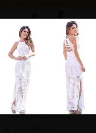 9988bd49c Vestido longo com fenda lateral - compre online, ótimos preços | Shafa