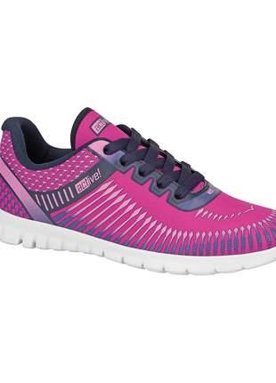 Tênis feminino beira rio pink active ultra leve