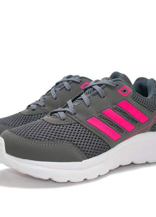 Tênis adidas duramon cinza pink