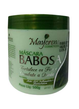 Shampoo condicionador e máscara capilar de babosa hidratação e fortalecimento dos cabelos